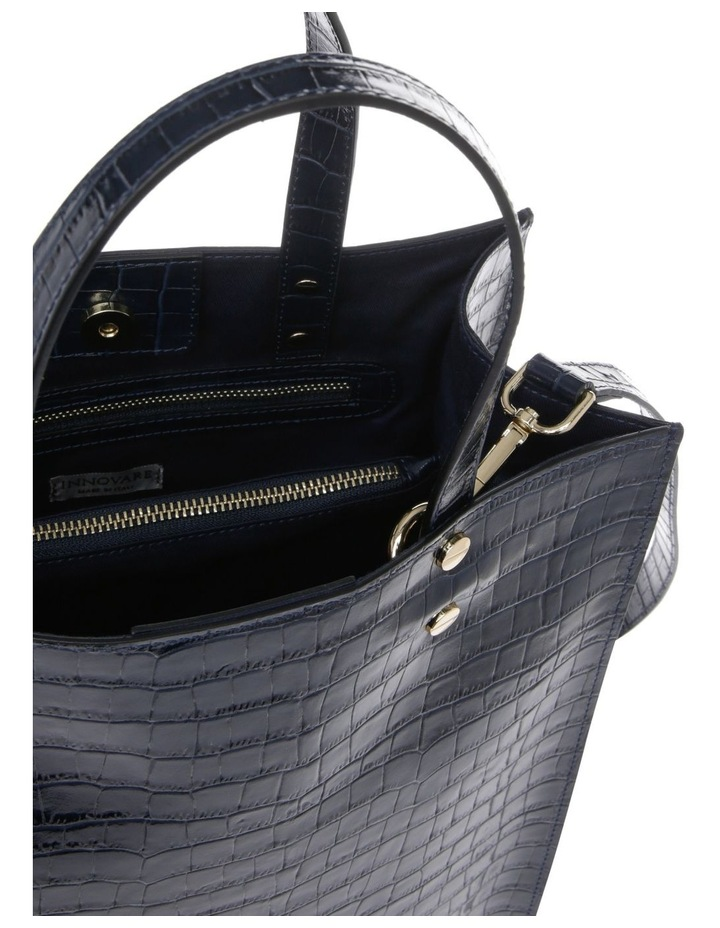 Rosa Double Handle Navy Tote Bag image 4