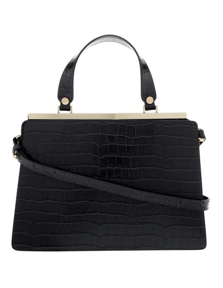 Alessa Top Handle Black Crossbody Bag image 1
