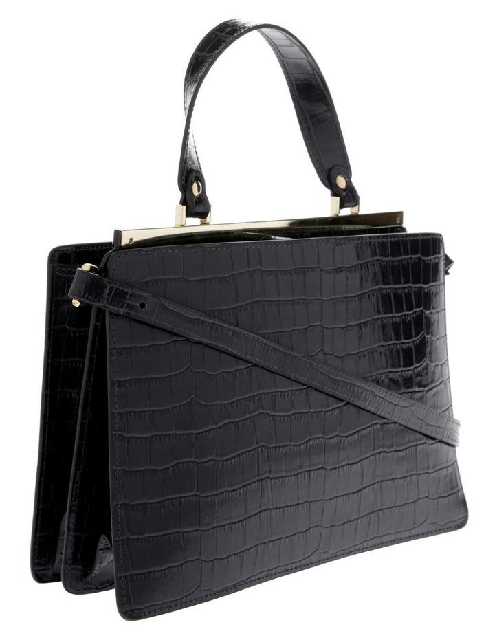 Alessa Top Handle Black Crossbody Bag image 2