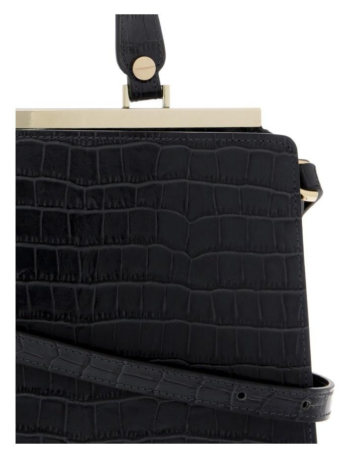Alessa Top Handle Black Crossbody Bag image 3