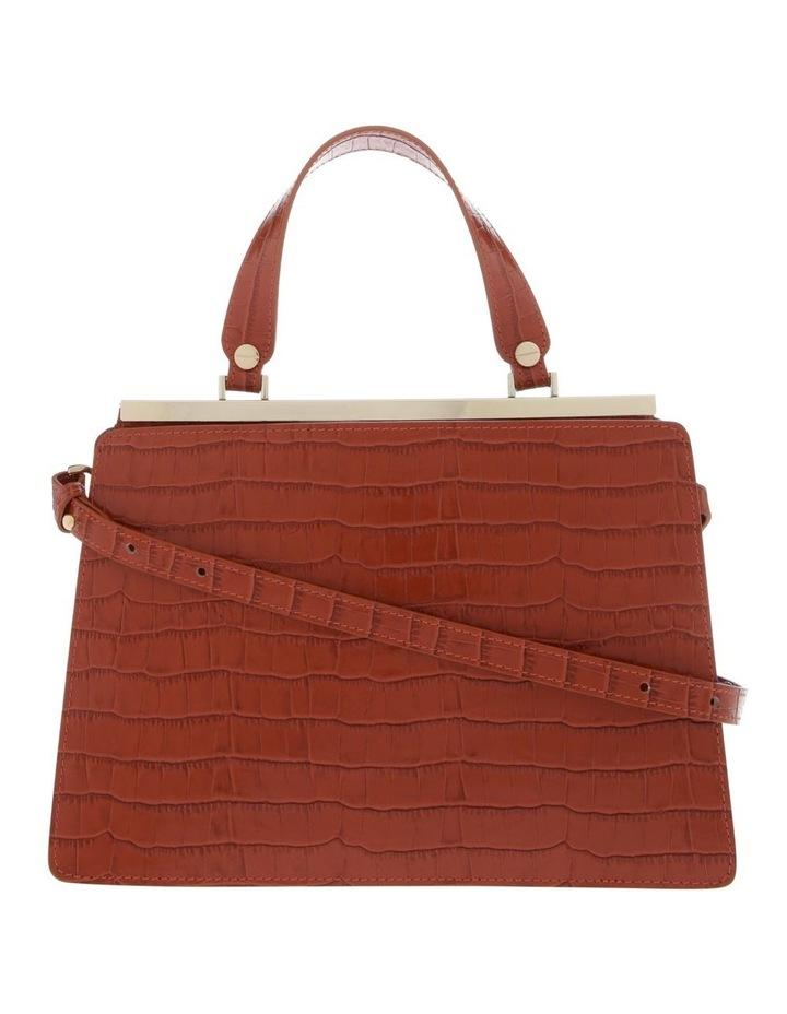Alessa Top Handle Tan Crossbody Bag image 1