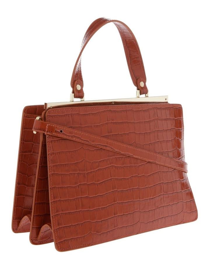 Alessa Top Handle Tan Crossbody Bag image 2