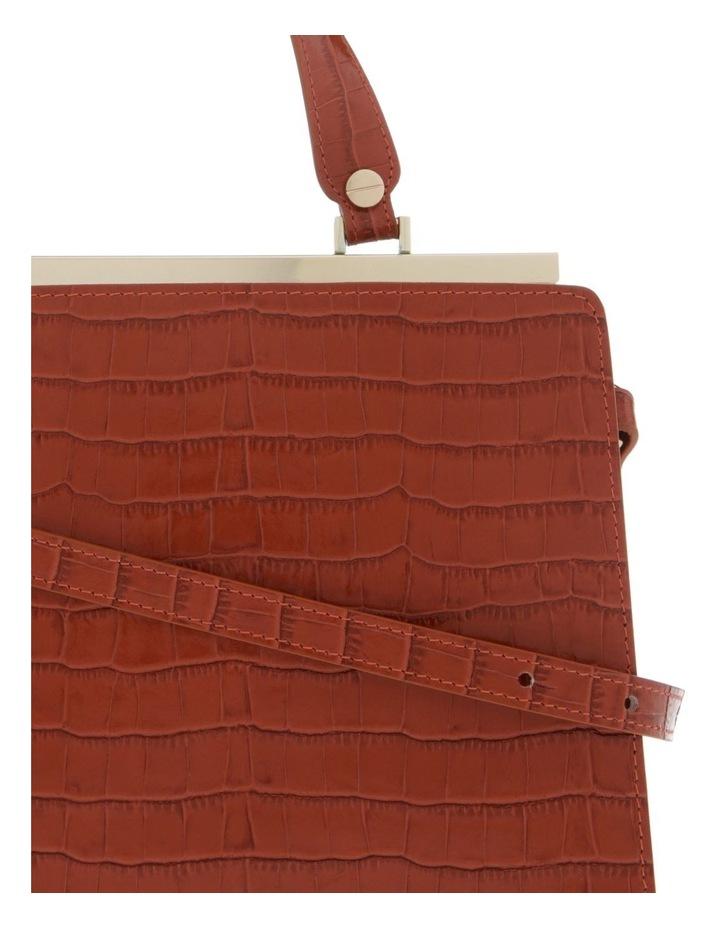 Alessa Top Handle Tan Crossbody Bag image 3