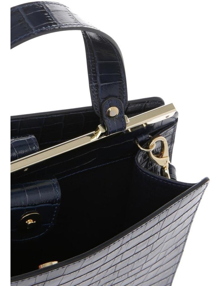 Alessa Top Handle Navy Crossbody Bag image 4
