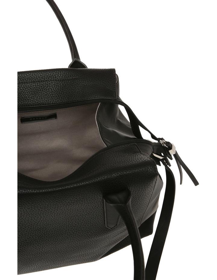 BHI008 Contrast Stitch Tote Bag image 4