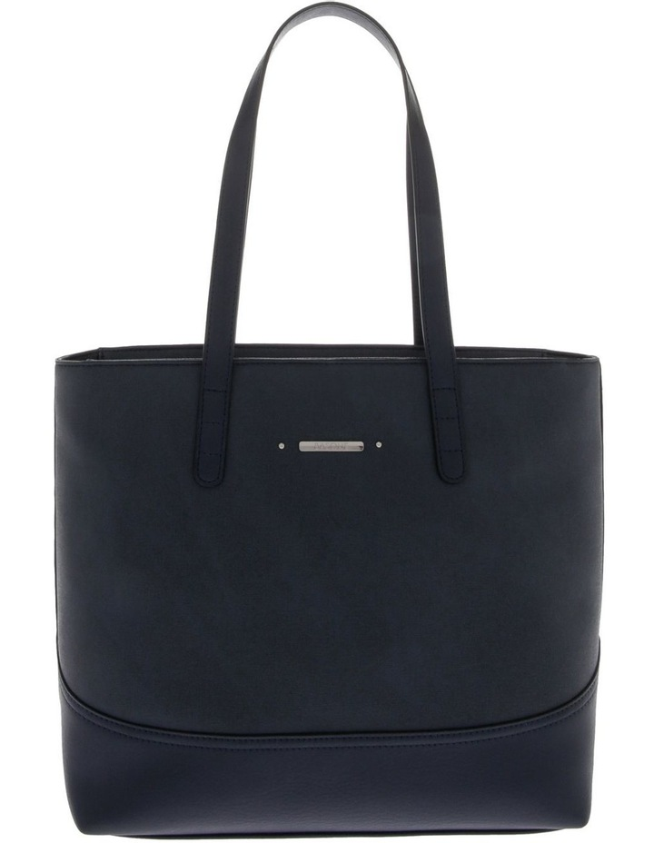 Delia Double Handle Navy Tote Bag image 1