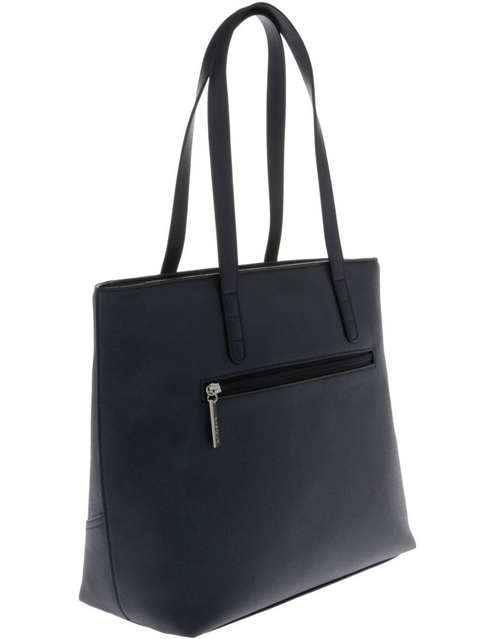 Delia Double Handle Navy Tote Bag image 2