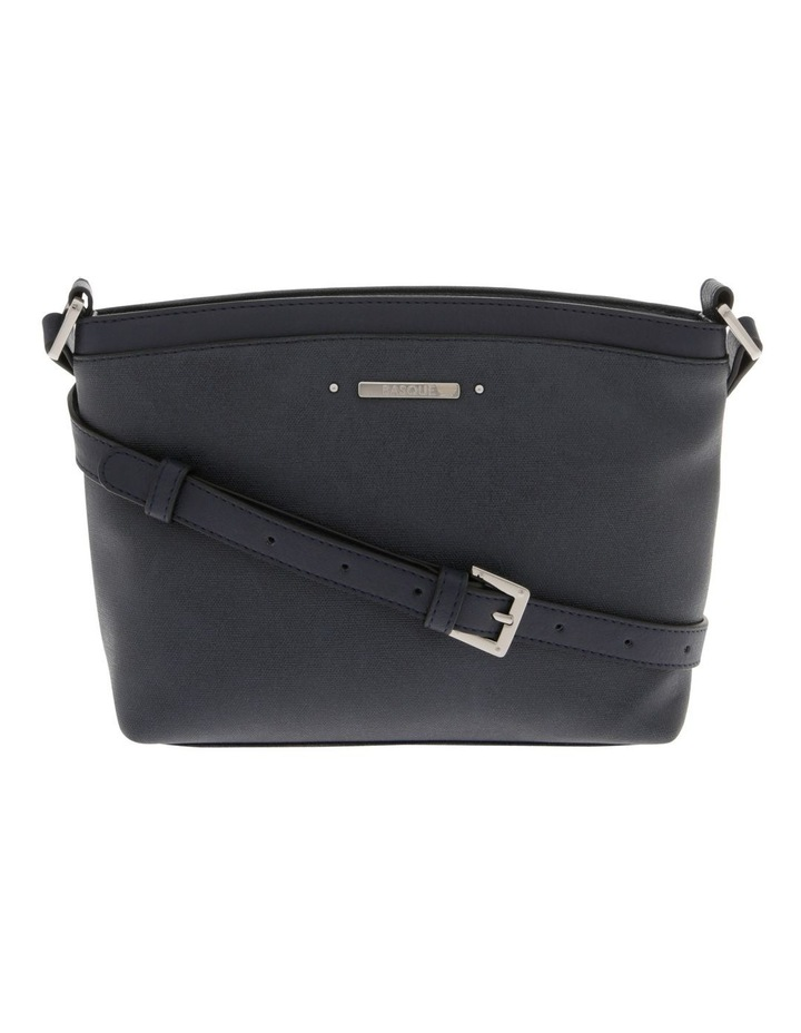 Delia Zip Top Navy Crossbody Bag image 1