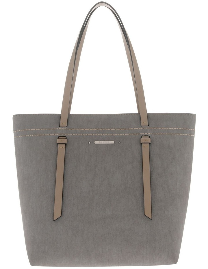 Cathy Double Handle Grey Tote Bag image 1