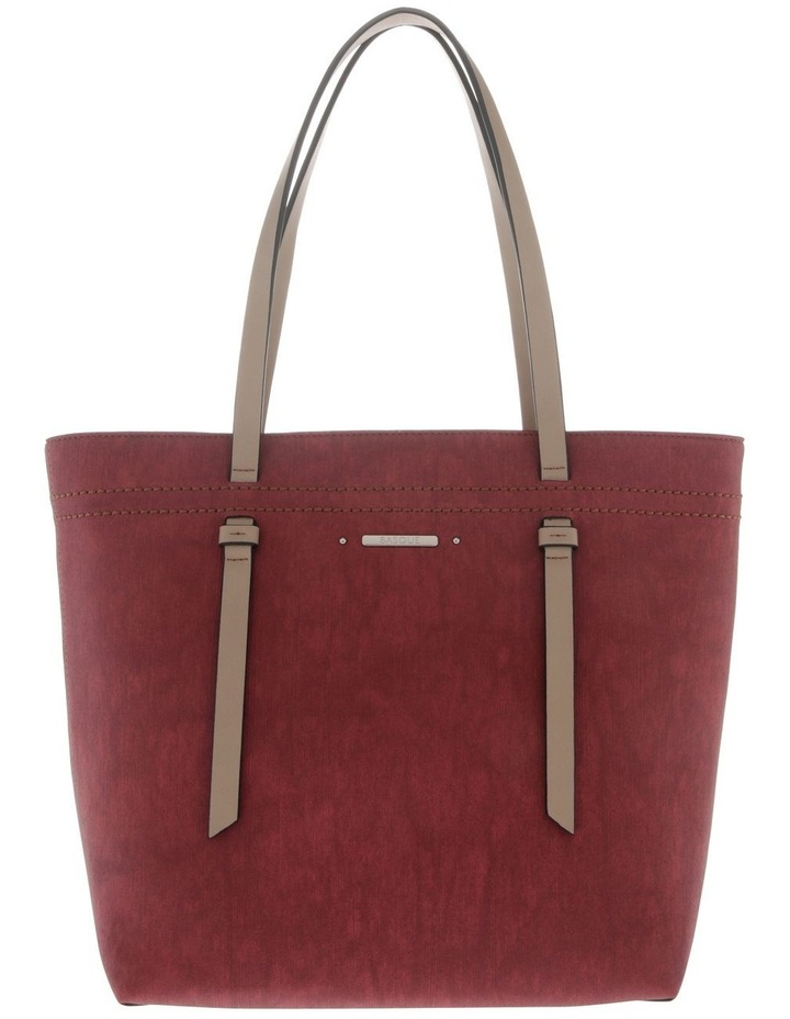 Cathy Double Handle Red Tote Bag image 1