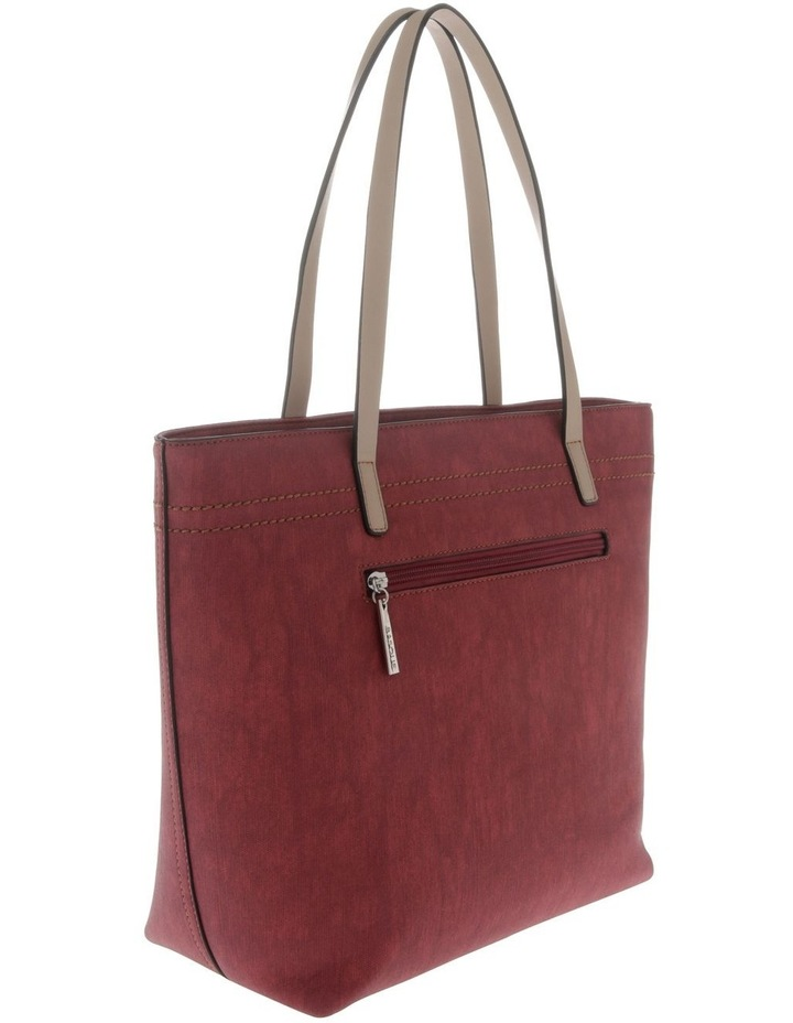 Cathy Double Handle Red Tote Bag image 2