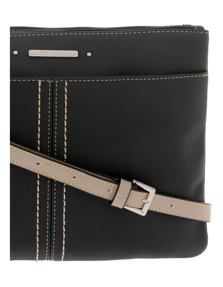 Cathy Zip Top Black Crossbody Bag image 3
