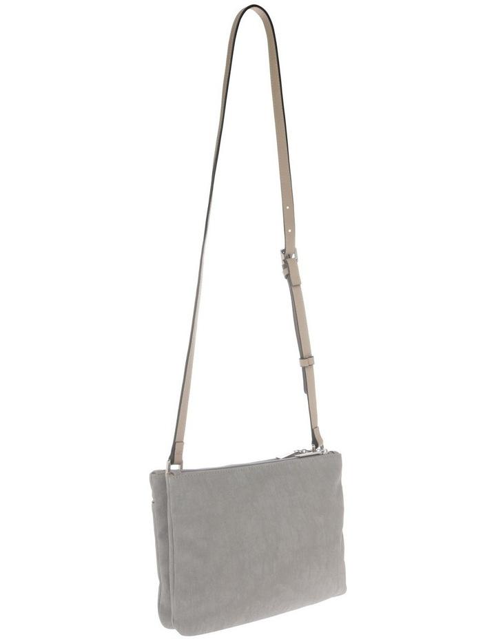Cathy Zip Top Grey Crossbody Bag image 2
