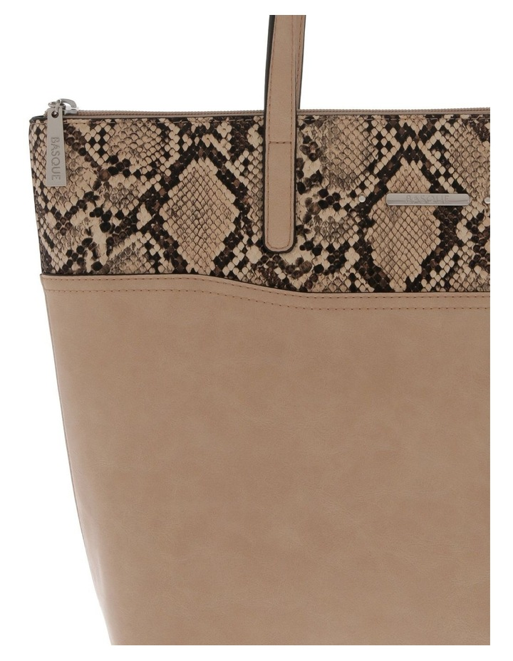 Julie Taupe Double-Handle Tote Bag image 3
