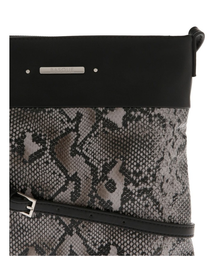 Julie Black Zip-Top Crossbody Bag image 3