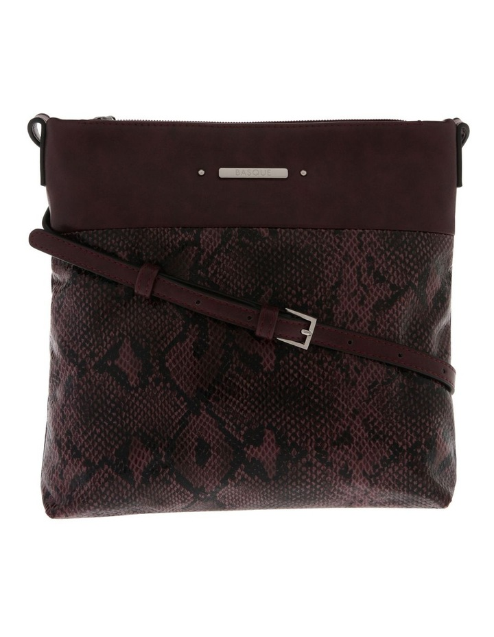 Julie Zip Top Red Crossbody Bag image 1