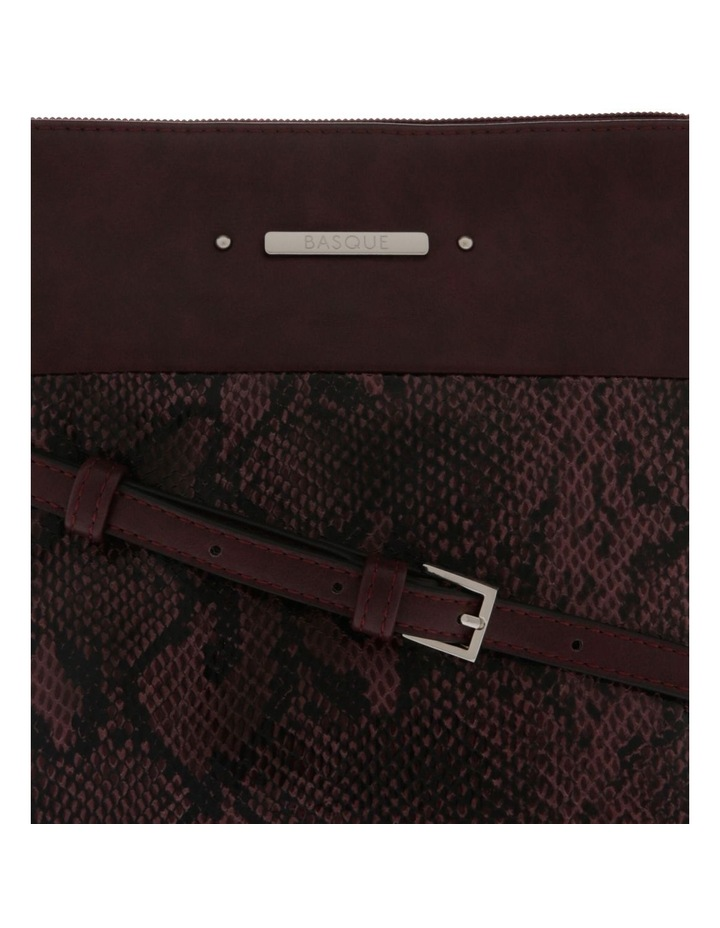 Julie Zip Top Red Crossbody Bag image 3