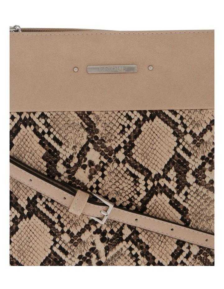 Julie Zip Top Taupe Crossbody Bag image 3