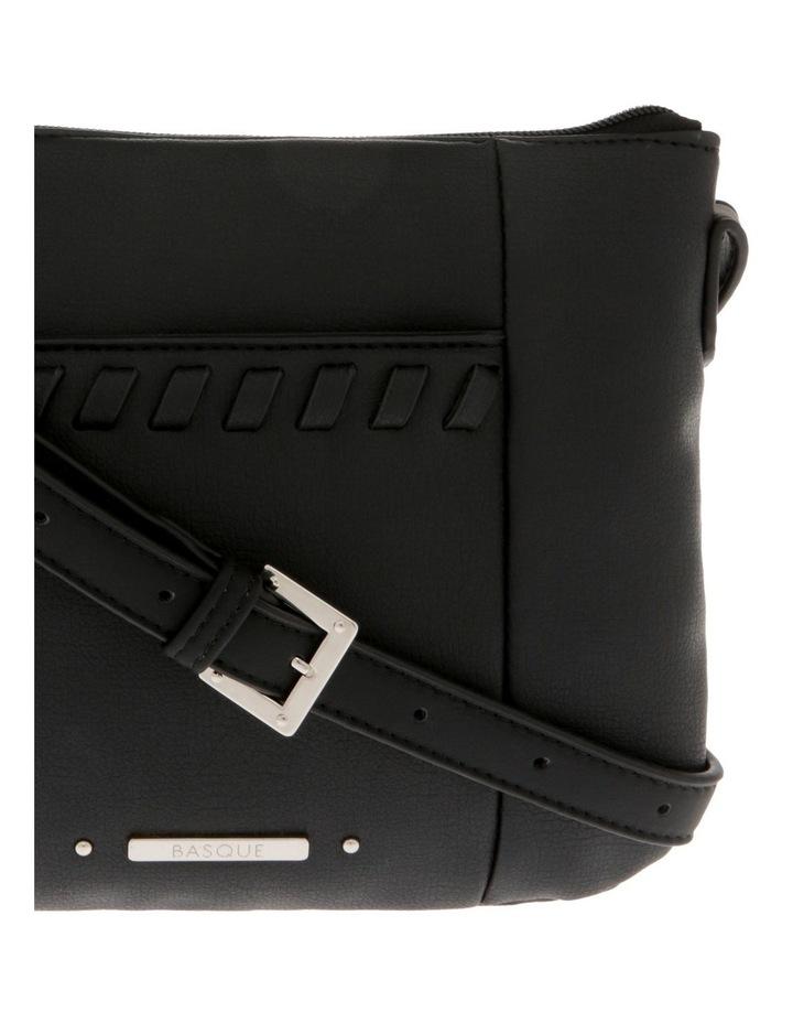 Jodie Zip Top Black Crossbody Bag image 3