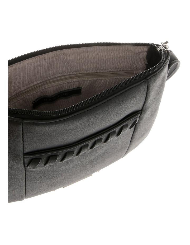 Jodie Zip Top Black Crossbody Bag image 4