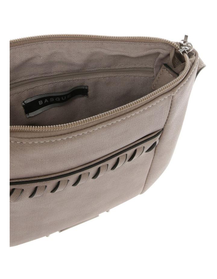 Jodie Zip Top Taupe Crossbody Bag image 4