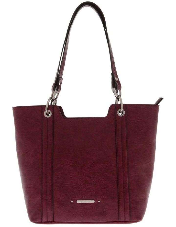 Lizard Red Double-Handle Tote Bag image 1