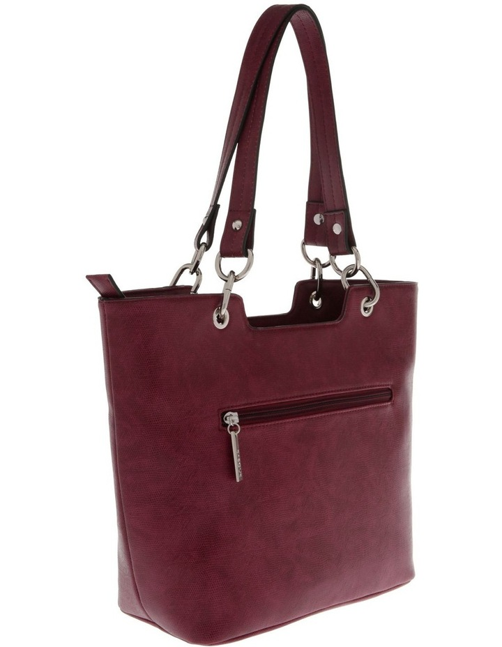 Lizard Red Double-Handle Tote Bag image 2
