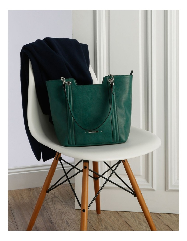 Lizard Green Double-Handle Tote Bag image 5