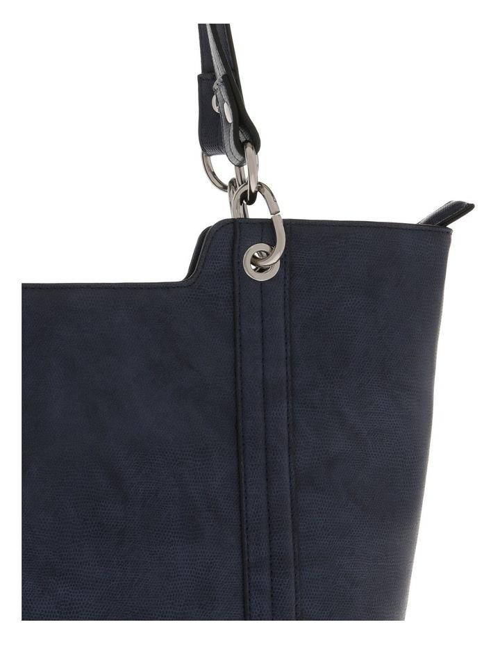 Lizard Navy Double-Handle Tote Bag image 3