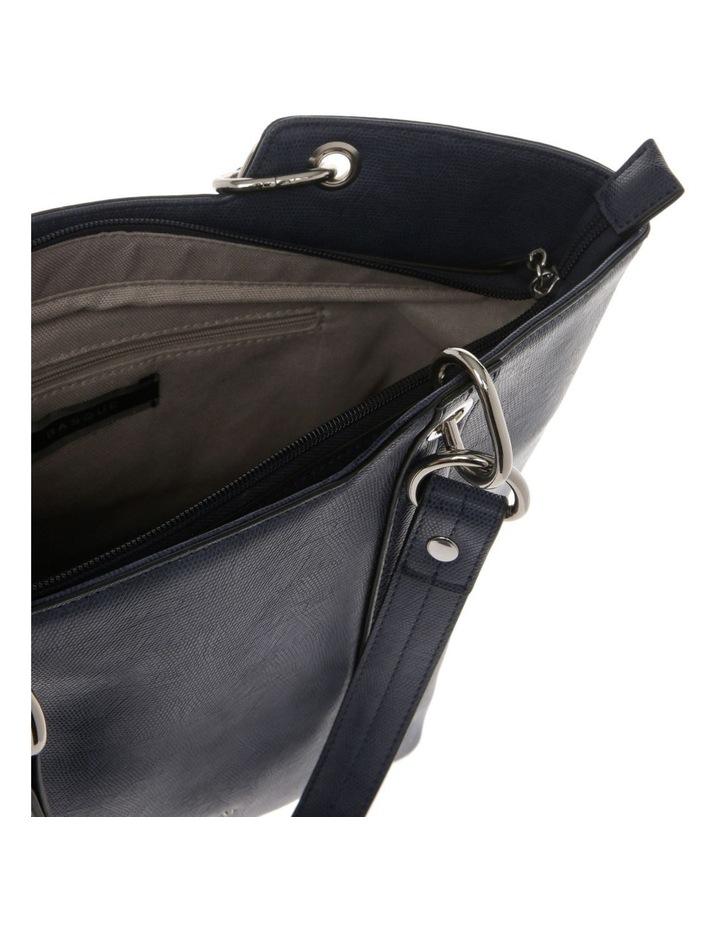 Lizard Navy Double-Handle Tote Bag image 4