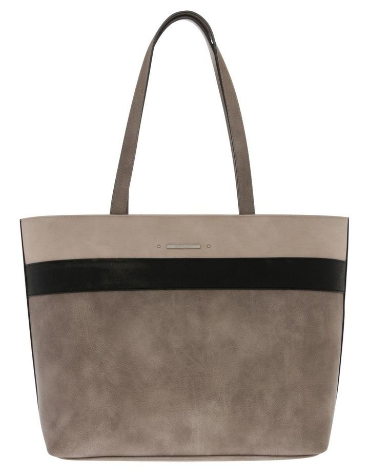 Amy Double Handle Grey Tote Bag image 1