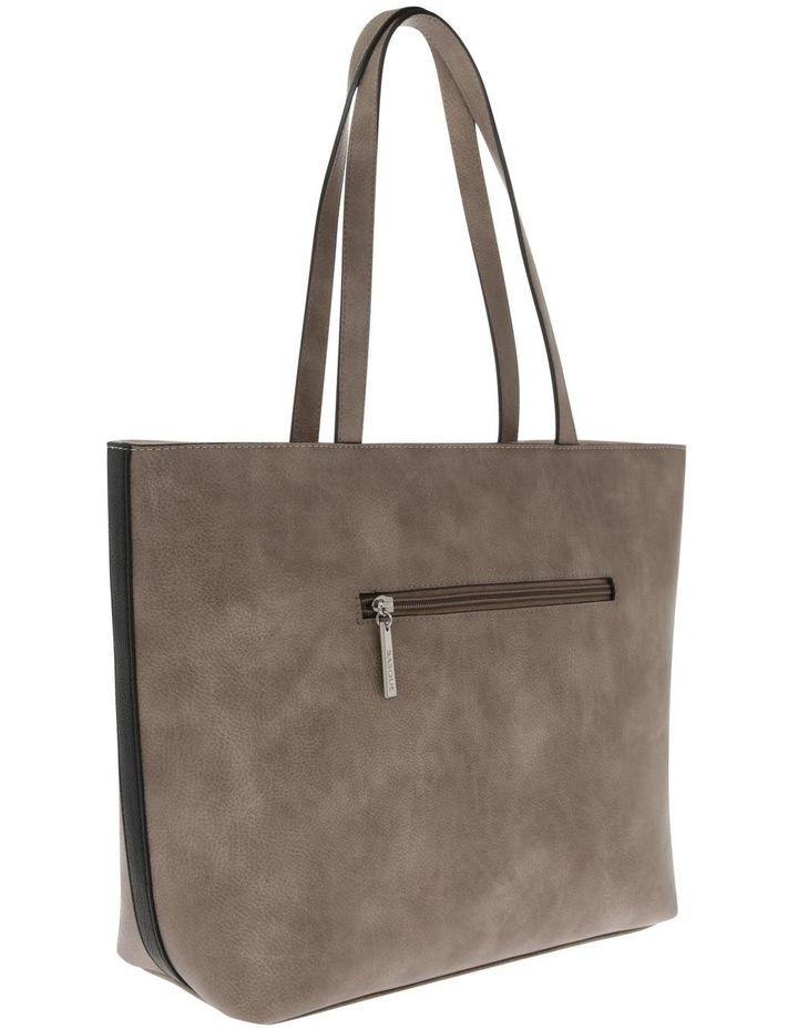 Amy Double Handle Grey Tote Bag image 2