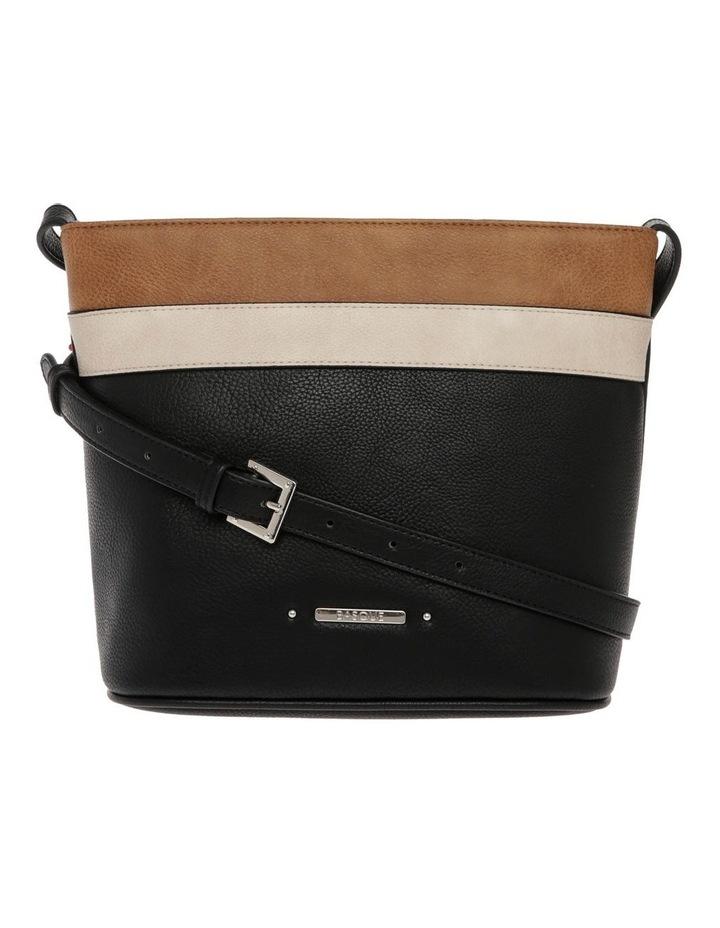 Amy Zip Top Black Crossbody Bag image 1