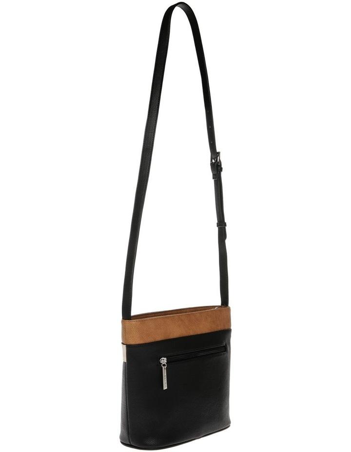 Amy Zip Top Black Crossbody Bag image 2