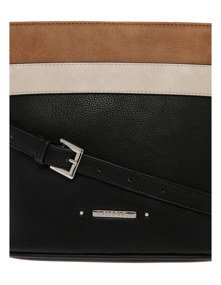 Amy Zip Top Black Crossbody Bag image 3