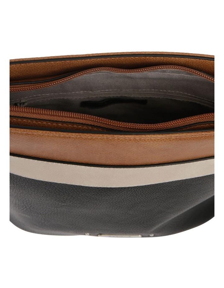 Amy Zip Top Black Crossbody Bag image 4