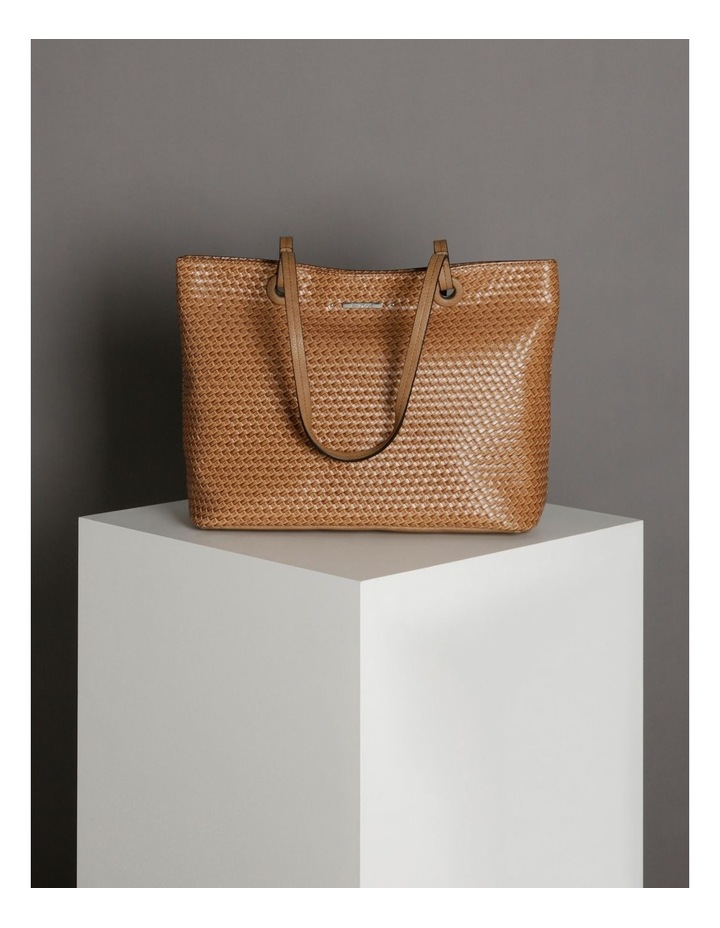 Natalie Tote in Tan image 5