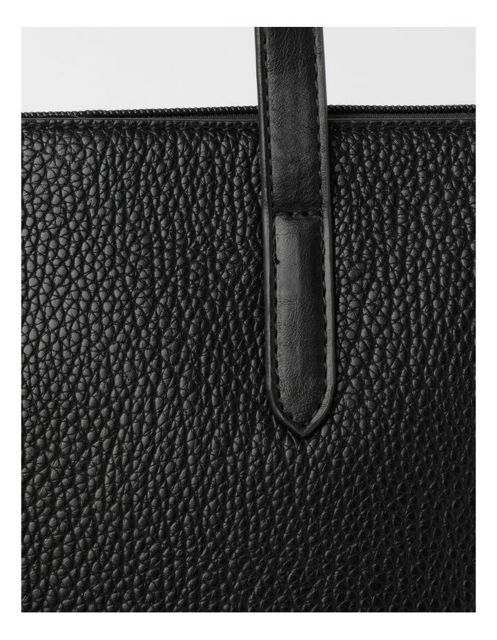 BHS011 DION MEDIUM Top Handle Tote Bag image 3