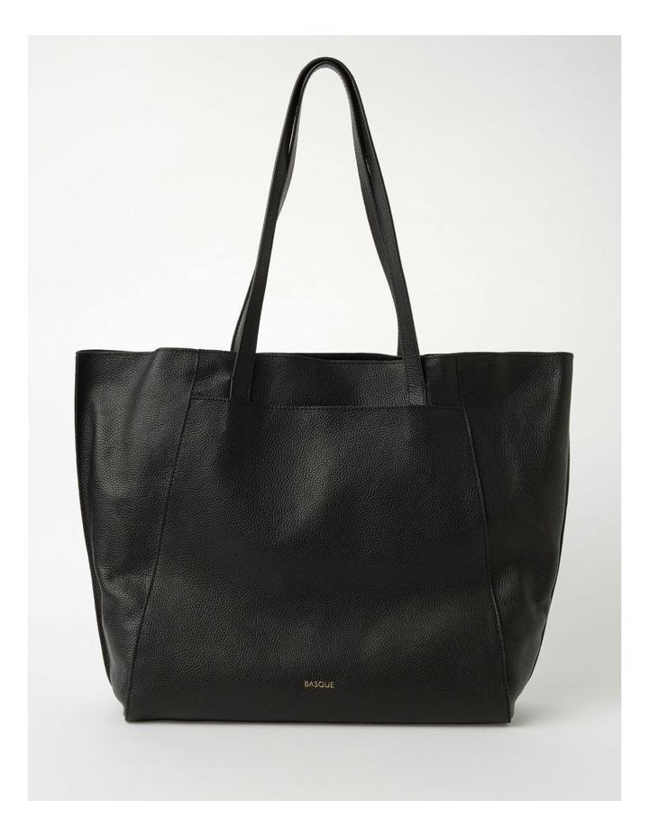 Carolina Black Large Tote Bag image 1