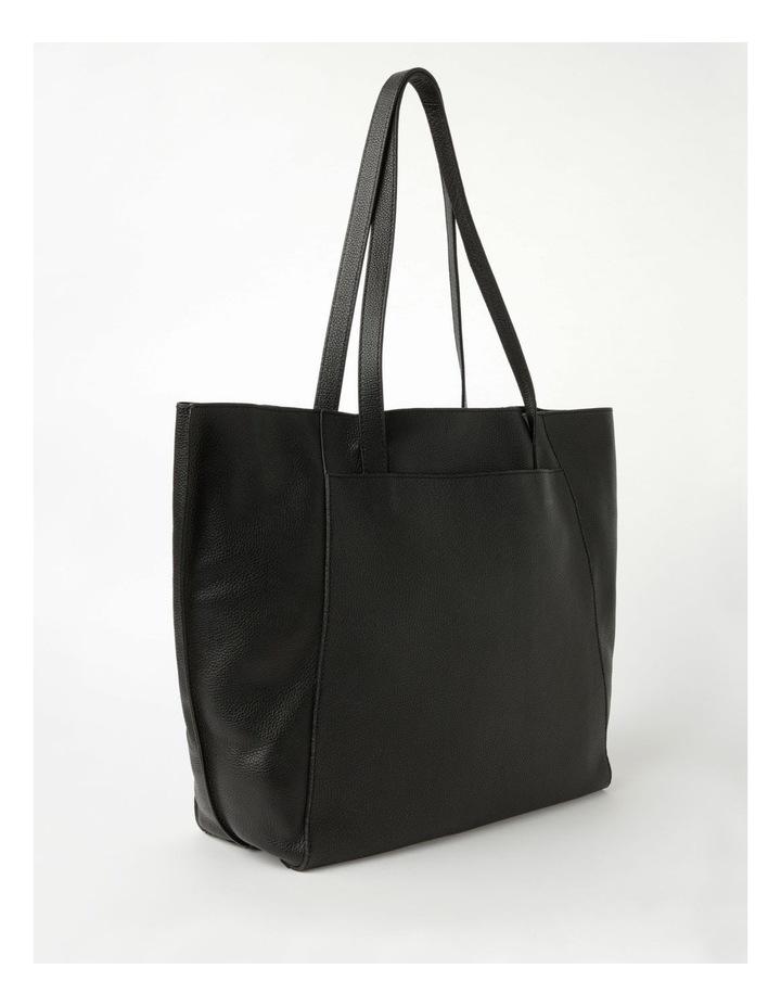Carolina Black Large Tote Bag image 2