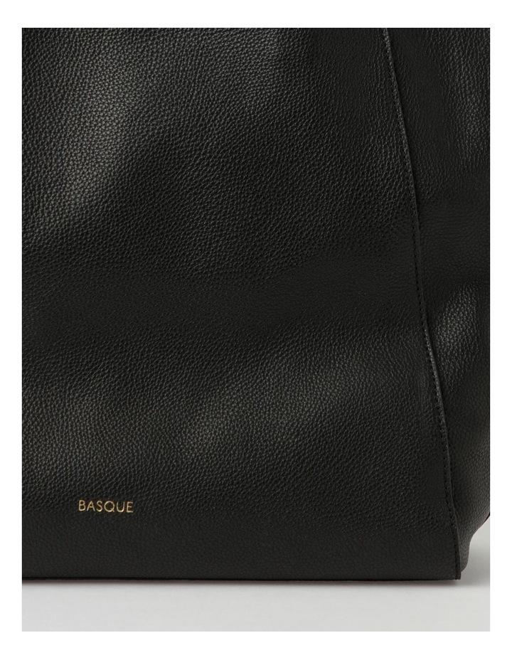 Carolina Black Large Tote Bag image 3