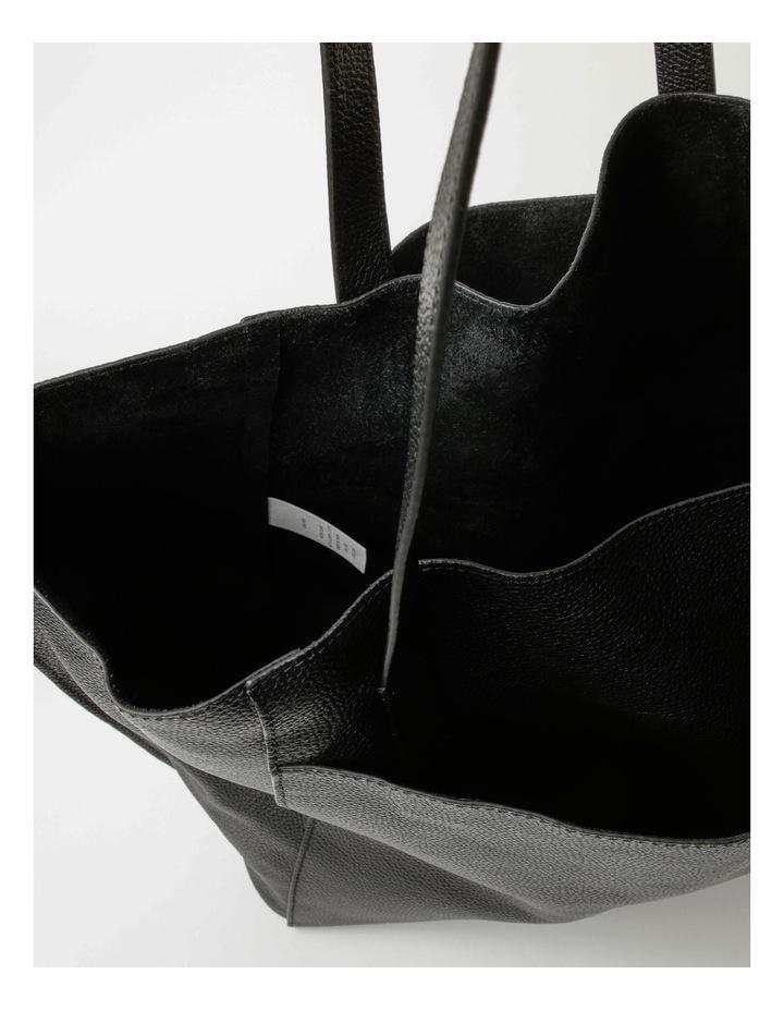 Carolina Black Large Tote Bag image 4