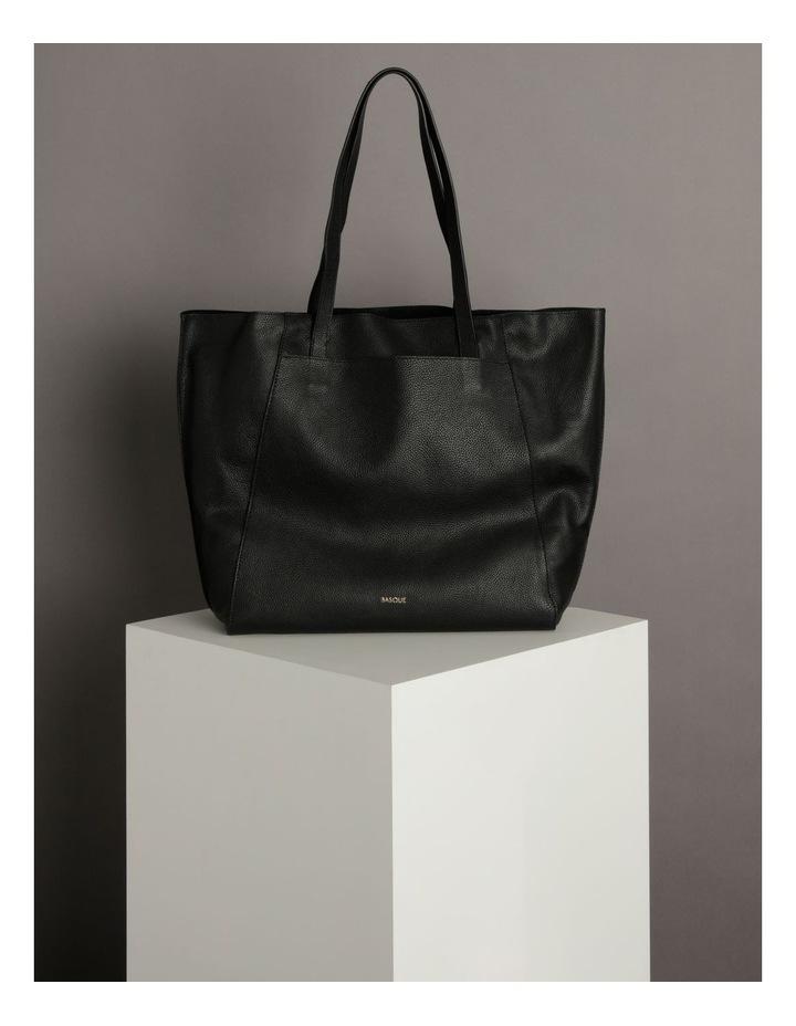 Carolina Black Large Tote Bag image 5