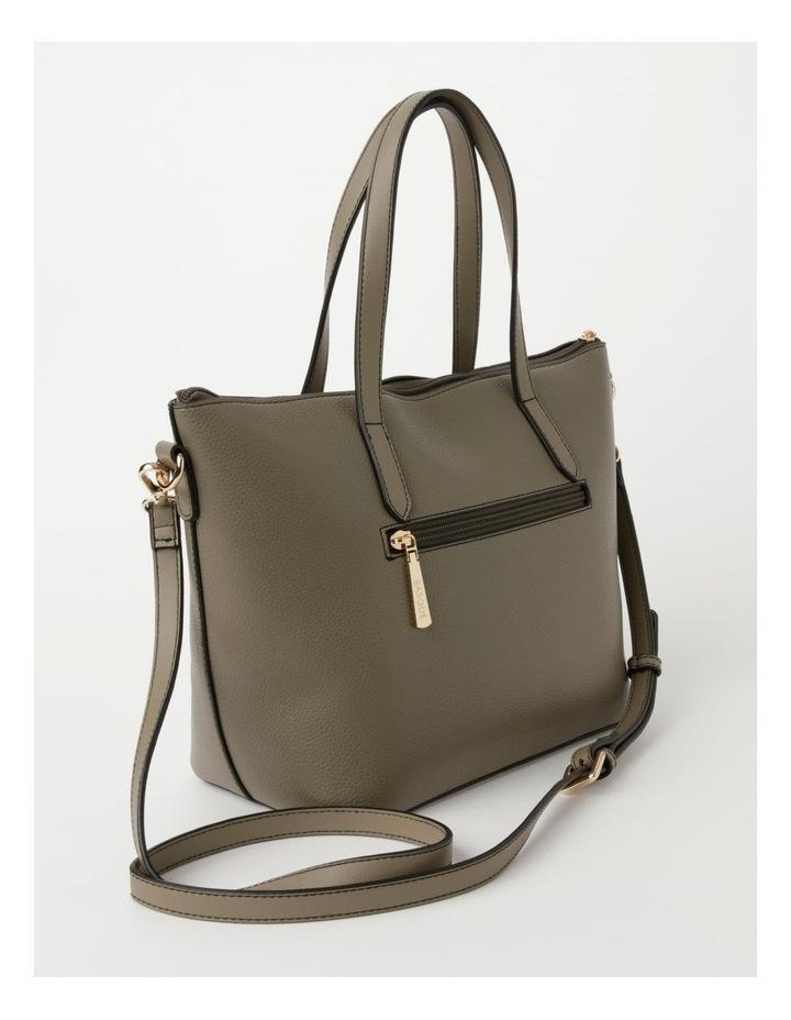 Dion Medium Khaki Tote Bag image 2