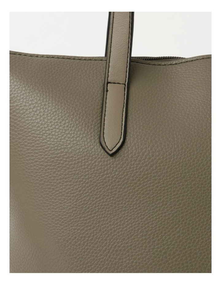 Dion Medium Khaki Tote Bag image 3