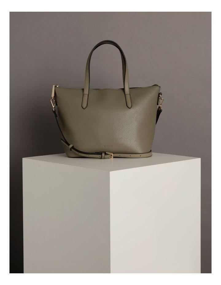 Dion Medium Khaki Tote Bag image 5
