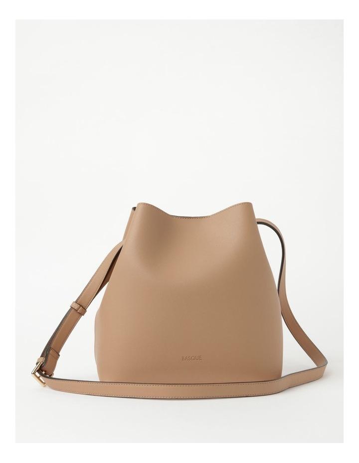Erin Bucket Nude Shoulder Bag image 1