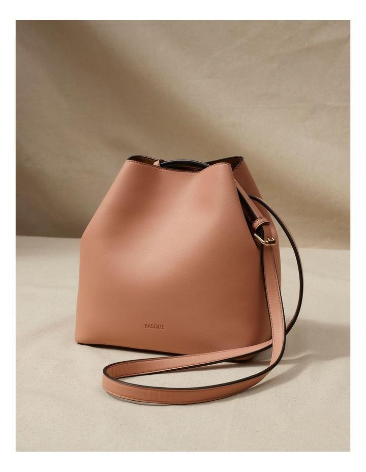 Erin Bucket Nude Shoulder Bag image 2