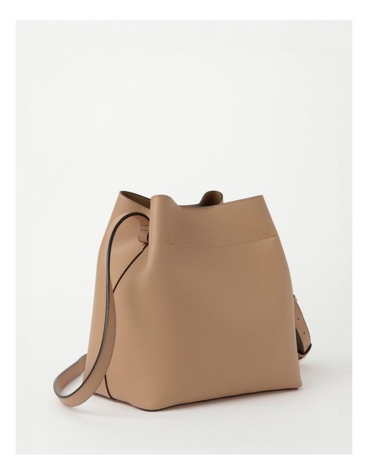 Erin Bucket Nude Shoulder Bag image 3