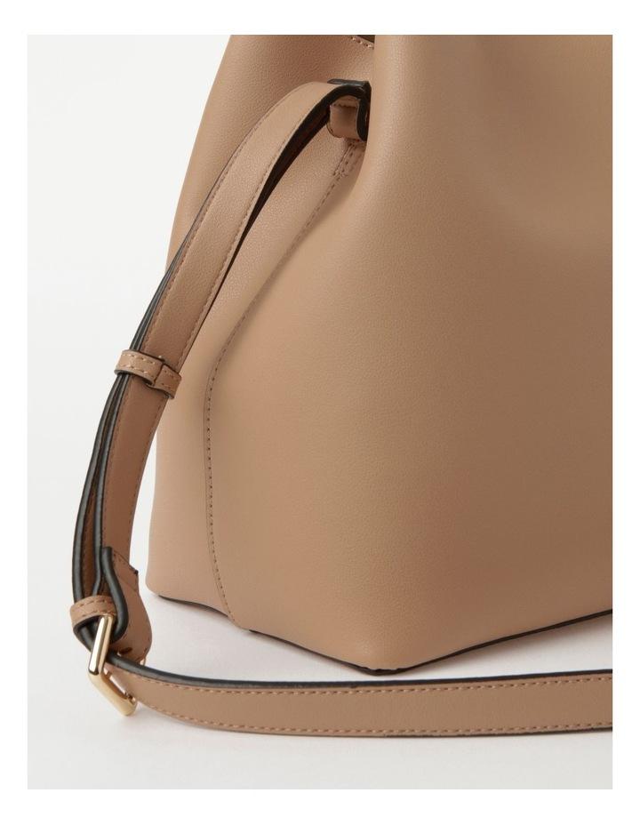 Erin Bucket Nude Shoulder Bag image 4